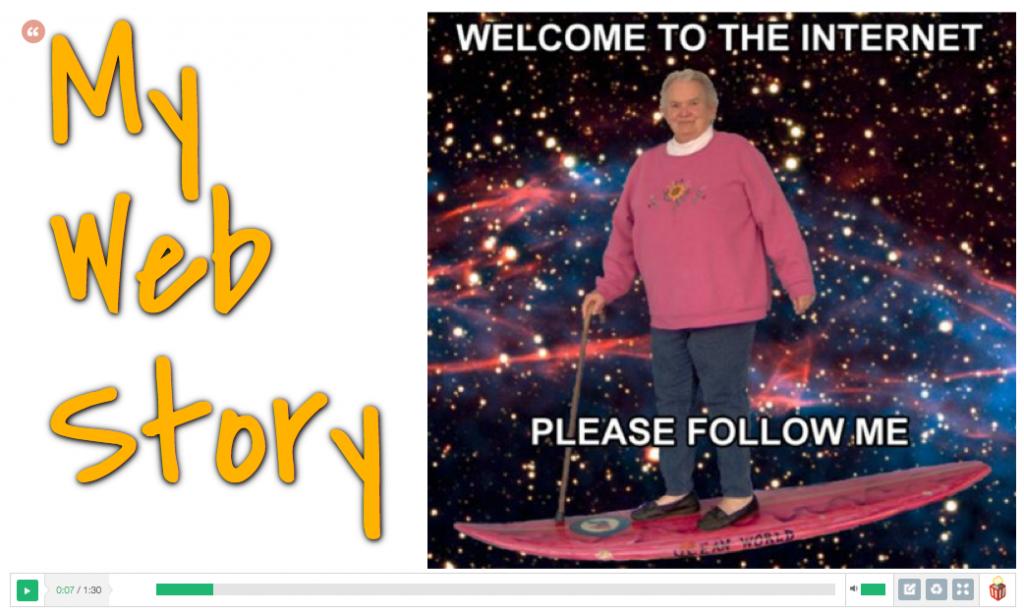 My web story